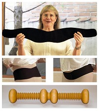 Whole Woman Posture Belt & Exercise Baton Bundle